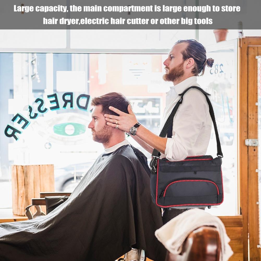Sac De Coiffure Outils Sac Grand Rangement Professionnel Coiffure /Équipement De Cheveux Outil Carry Case Sac Multi-Fonction Portable Coiffeur Sac Barber Kit Titulaire