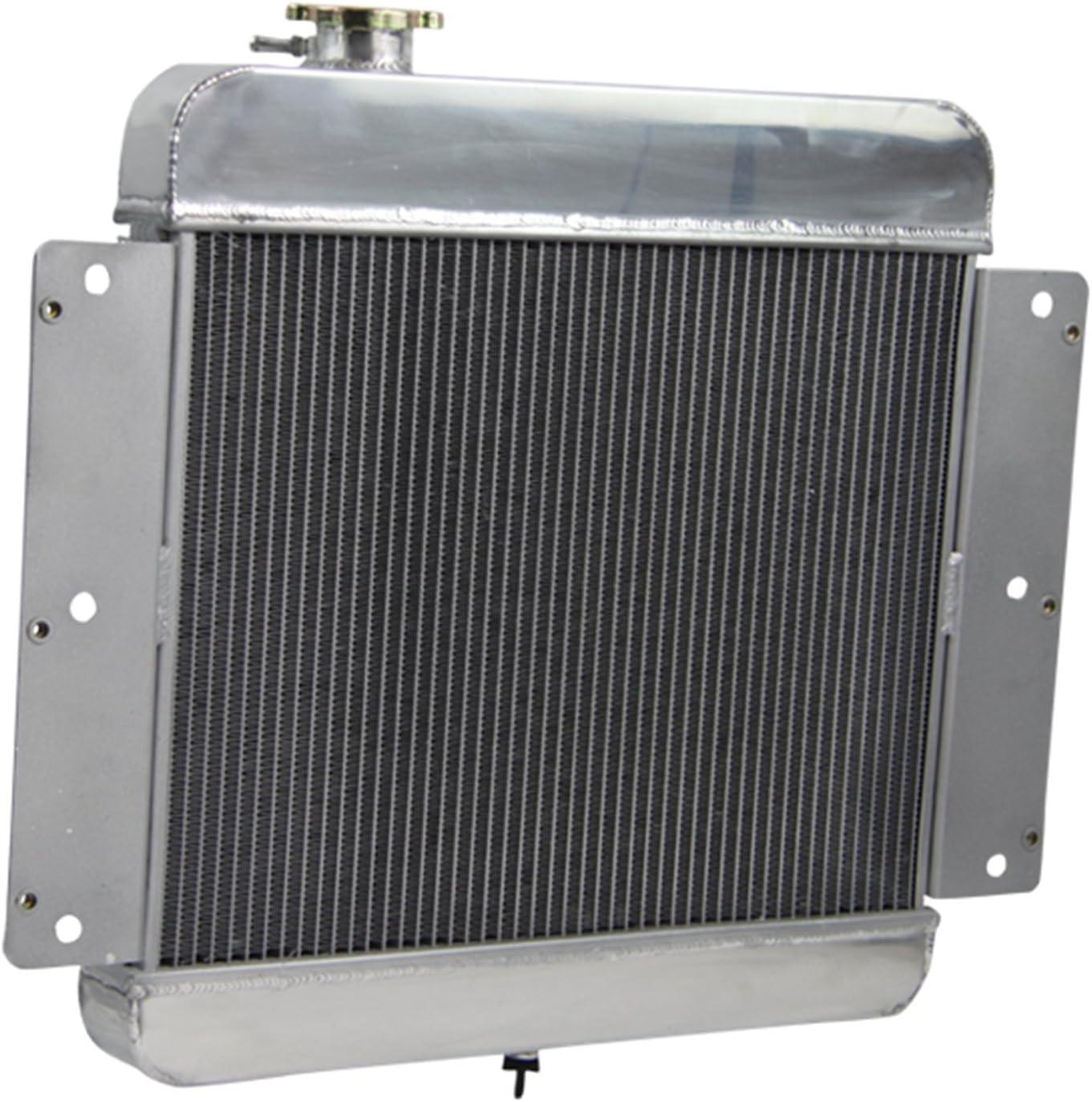 3Row Core Aluminum Radiator For Chevy Nova II Inline 6 CyL /& V8 Conversion 62-67