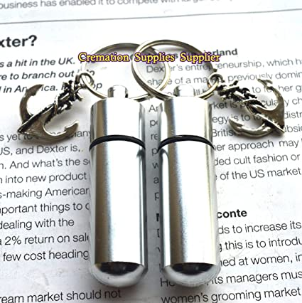 Amazon.com  Anchor Keyring Cremation Urn Keyring-Stainless Steel Urn ... d34855d81