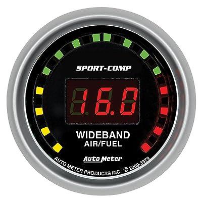 Auto Meter 3379 Sport-Comp Wide Band Air Fuel Ratio Kit: Automotive