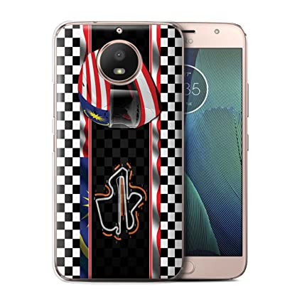 Stuff4® Phone Case/Cover/Skin/Moto-CC/F1 Track Flag Collection ...
