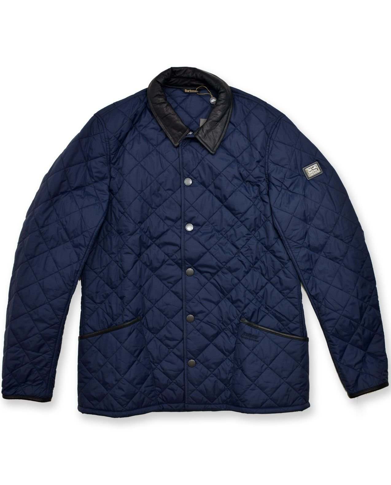 Land Rover Official Merchandise Men's Landale Quilt, Navy XL