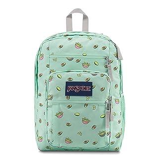 JanSport Unisex Big Student Oversized Backpack Avocado Party
