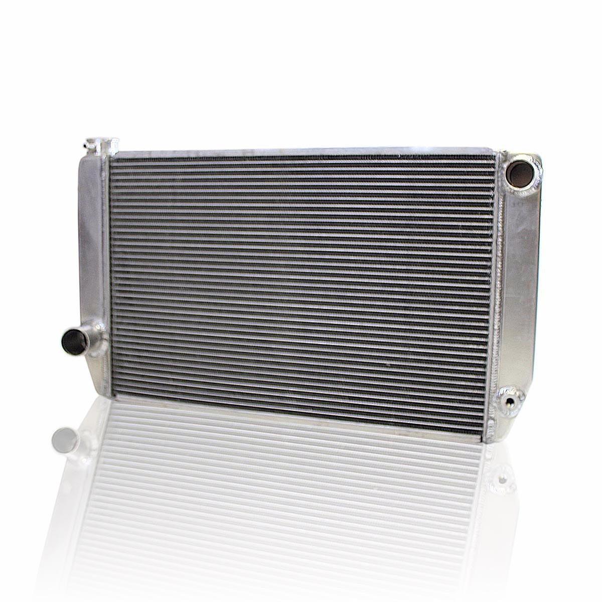 Griffin Radiator  1-26271-XS ClassicCool 31' x 16' 2-Row Universal Fit Cross Flow Radiator with 1' Tube
