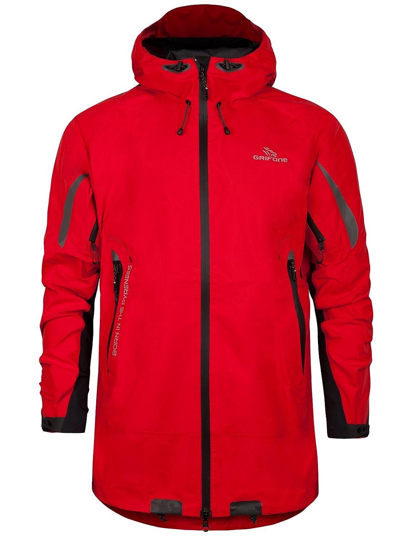 Grifone Tahan - Chaqueta para Hombre, Color Rojo, Talla XL: Amazon.es: Zapatos y complementos