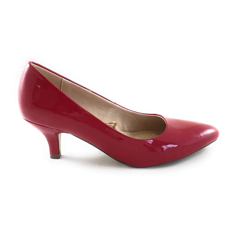 Lotus , Damen Pumps Rot rot