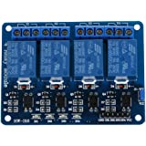 SODIAL(R) 5V 4-Canal Modulo rele Shield for Arduino ARM PIC AVR DSP Electronic