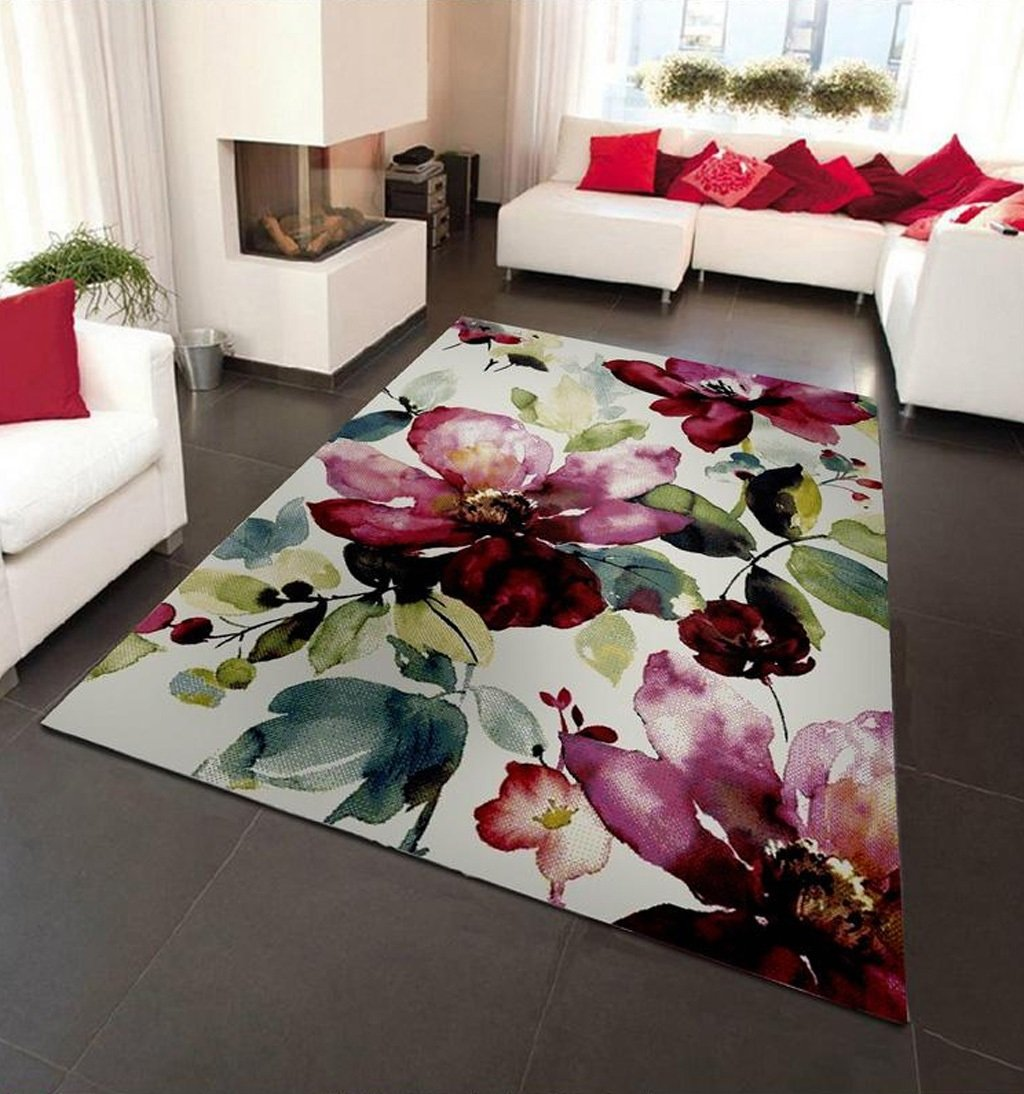 Hyun times Simple Ink And Wash Abstract Carpet Living Room Bedroom Coffee Table Bedside Study Room Carpet Bright