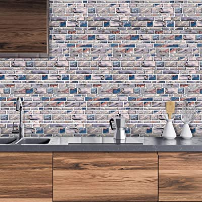 Buy Peel And Stick Tiles Backsplash For Kitchen Stick On Tiles Kitchen Backsplash Tile Stick On Backsplash Adhesive Backsplash For Kitchen Bathroom Rv 11 X 9 5 4 Sheets Online In Kazakhstan B08z3gk7wf