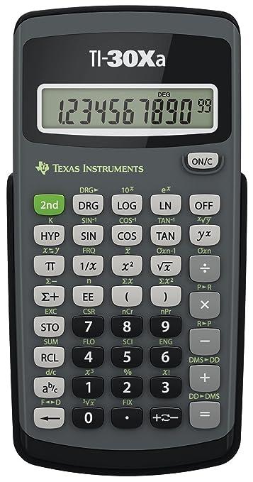 25 opinioni per Texas Instruments TI 30 XA Calcolatrice
