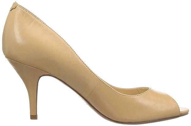 7807e7ddda Amazon.com | Nine West Women's Orissa Leather Dress Pump, Natural, 11 M US  | Pumps