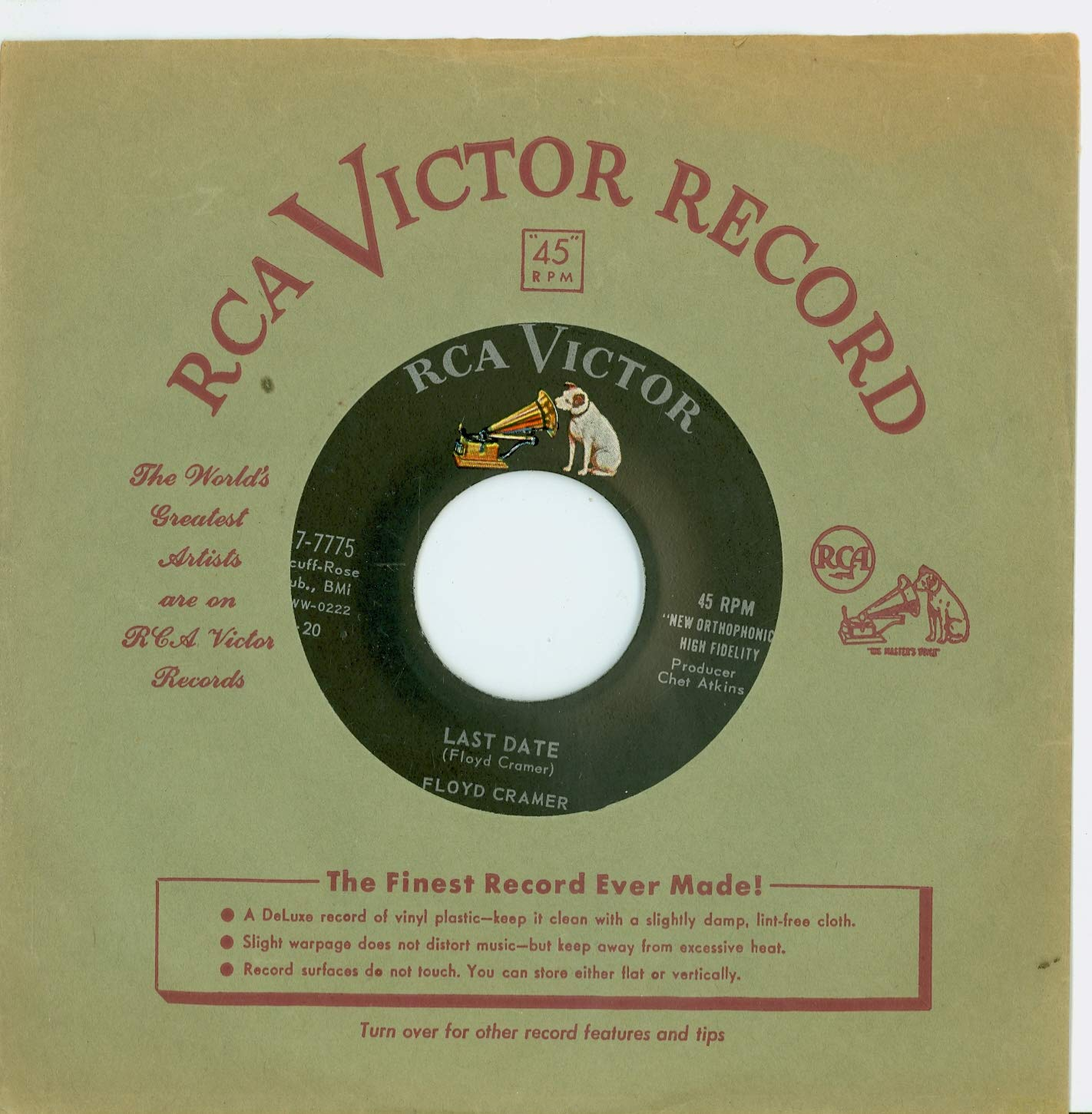 Dating RCA Victor Records