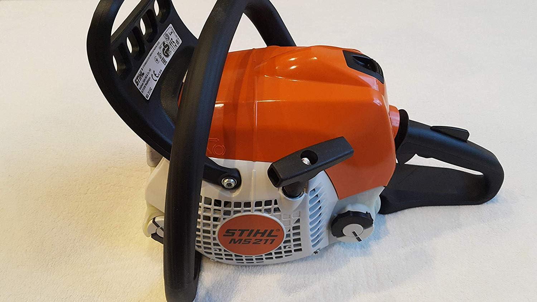 Stihl Motosierra MS 211 PM 3 con longitud de corte de 35 cm y cadena de 1,3 mm para trabajos con una buena potencia de corte