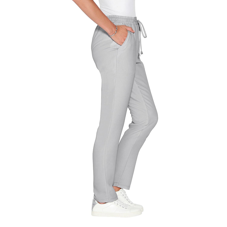 Pantalón Liso Cinturilla elástica con cordón y tapanudos de fantasía m - 012609