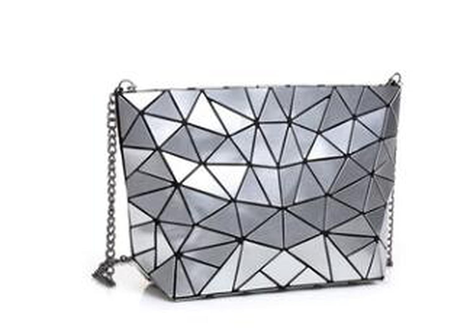 Amazon.com  Matte Designer Women Evening Bag Shoulder Bags Girls Bao Bao Flap  Handbag Fashion Geometric Casual Clutch Messenger Bag PP-1148 6d517d801b94