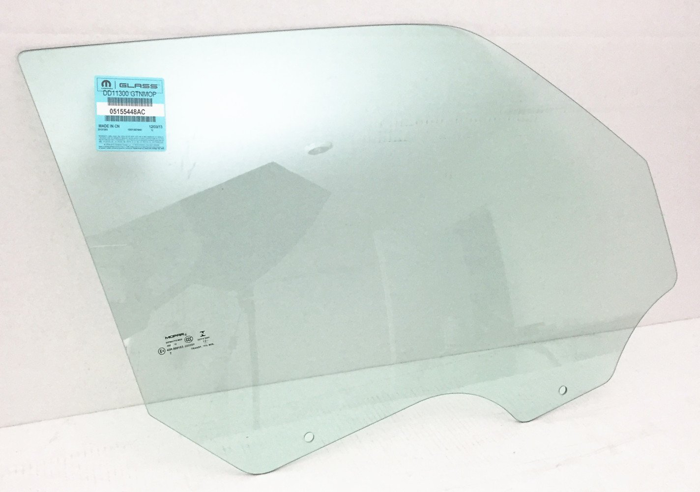 NAGD Fits 2002-2007 Jeep Liberty 4 Door SUV Passenger Side Right Front Door Window Glass