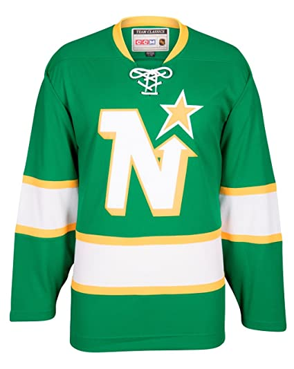 a22936a5f48dc Amazon.com : Minnesota North Stars CCM Reebok NHL Men's Vintage ...
