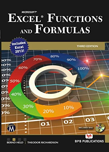 Excel Functions and Formulas