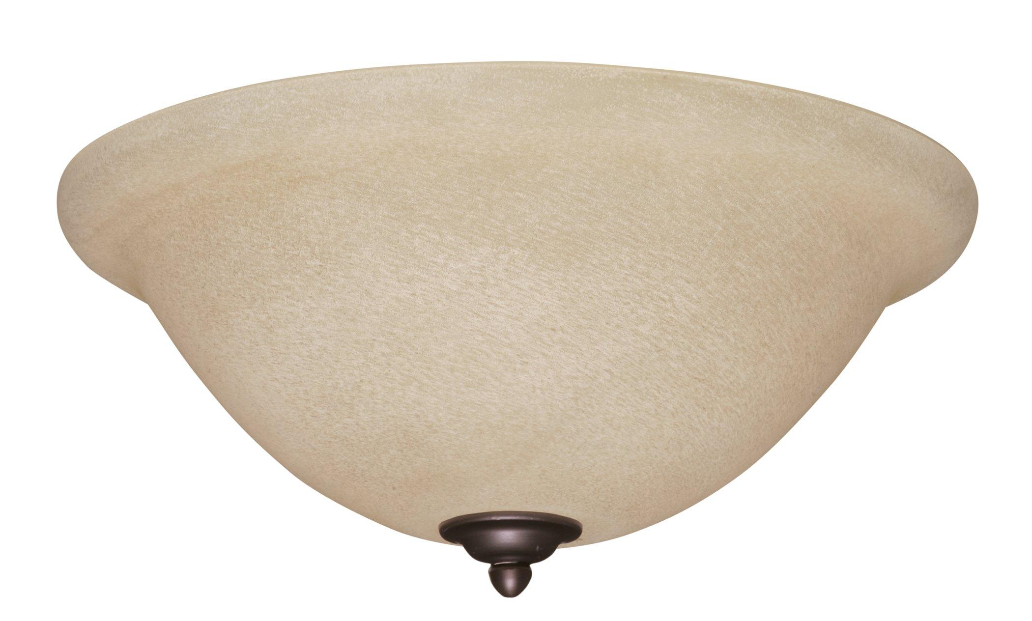 Emerson Ceiling Fans LK70VNB Amber Mist Light Fixture for Ceiling Fans, Medium Base CFL