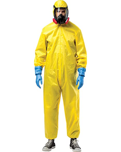 Amazon.com: Rasta Imposta - Traje de Hazmat de Breaking Bad ...