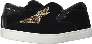 0236298ea43 Amazon.com  Dolce   Gabbana Men s Heraldic Sicily Sneaker Black 41 ...