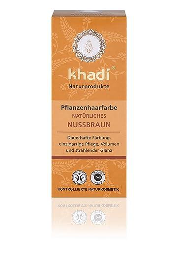 khadi pflanzen haarfarbe natà rliches nussbraun i natur haarfarbe