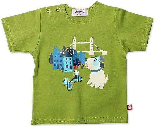 Zutano 4 Piece Set Long Sleeve Tee Pants Jacket and Hat for Baby Boys
