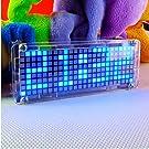 Horloge LED numérique SanSiDo 4 Chiffres Horloge LED Numérique DIY Apprentissage électronique Kit Horloge électronique Température D'affichage Kit électronique