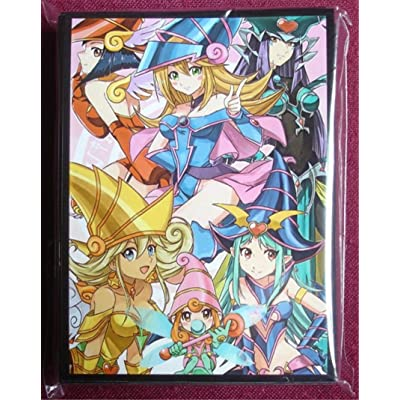 (60) MTG Wow Yugioh TCG Dark Magician Girl Card Sleeves 60pcs 67x92mm: Toys & Games