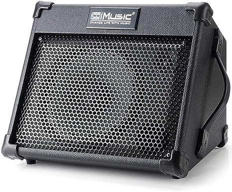 Amplificador de guitarra acústica, 40 W, recargable, portátil ...