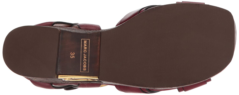 Marc Jacobs Women's Paloma 37 Status Wedge Sandal B071KD6RVD 37 Paloma M EU (7 US)|Bordeaux 9282c6