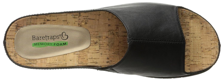 BareTraps Womens Cailee Slide Sandal Black 6.5 M US BT23906