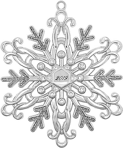 Harvey Lewis 2020 Snowflake Christmas Ornament, Genuine Swarovski Crystals Amazon.com: Harvey Lewis 2019 Silver Snowflake Ornament Adorned