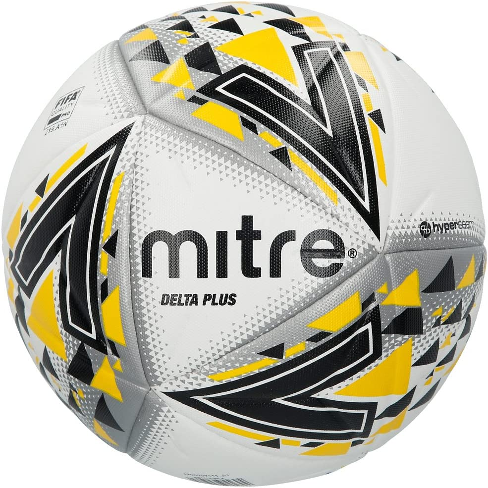 Mitre Delta Plus Balón de Fútbol Profesional, Unisex Adulto