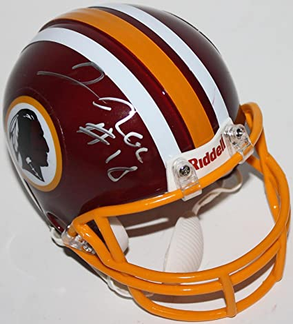 b22d82d3a4a Josh Doctson Autographed Mini Helmet - Rookiegraph  RG13189 - PSA DNA  Certified - Autographed