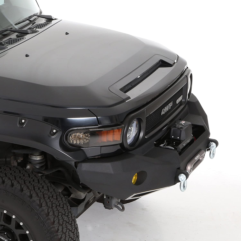 Smittybilt 612850 M1 Front Trunk Bumper For Toyota Fj Landcruiser With 22 Inch Custom Rims Cruiser Automotive