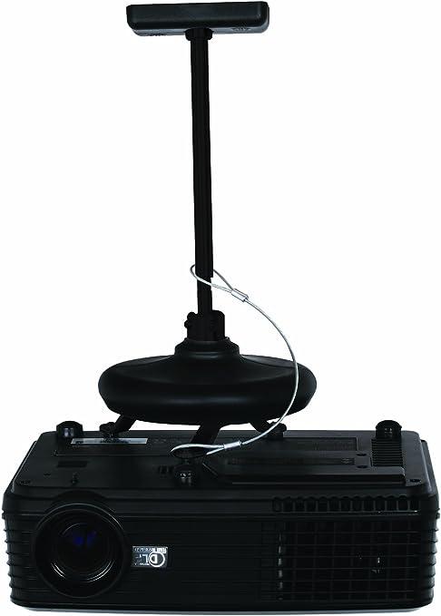 B-Tech BT881 - Soporte de techo para proyector, color negro ...