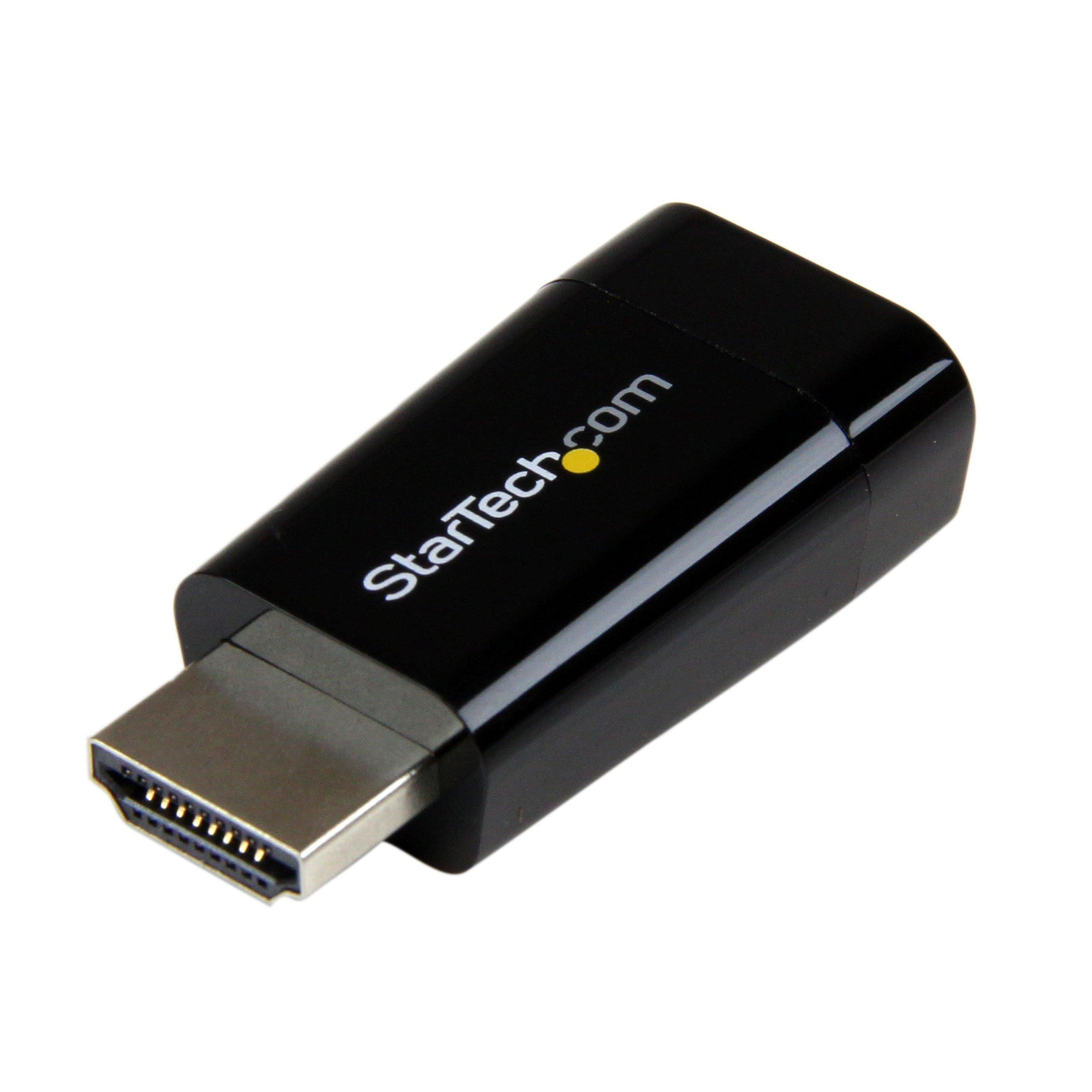 StarTech HD2VGAMICRO Compact HDMI to VGA Adapter Converter