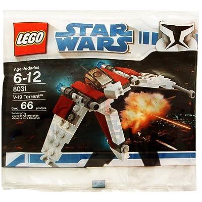 LEGO Star Wars V-19 Torrent Bagged (8031): Toys & Games