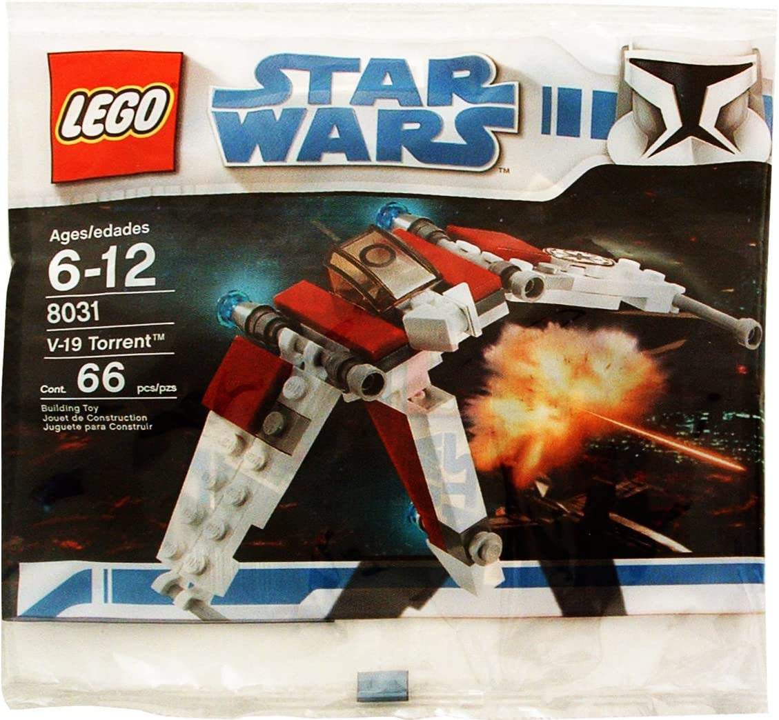 Lego X10 New Star Wars 30272 A-Wing Starfighter Poly Bags Set