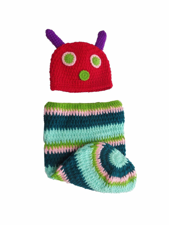 Amazon.com: Baby Kids Rainbow Caterpillar Wearable Blanket Sleeping ...