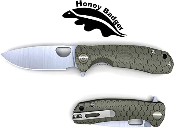Western Active Honey Badger Pocket Knife Flipper EDC Knife for Hunting