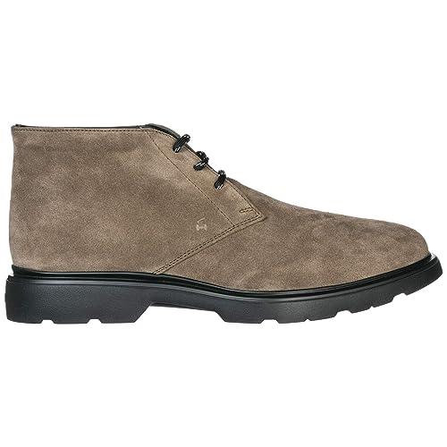 Hogan Route - H304 Botines Hombre Beige: Amazon.es: Zapatos y complementos