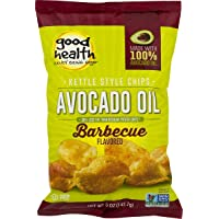Good Health Avocado Oil Kettle Style Barbecue Chips 5 oz. Bag (3 Bags)