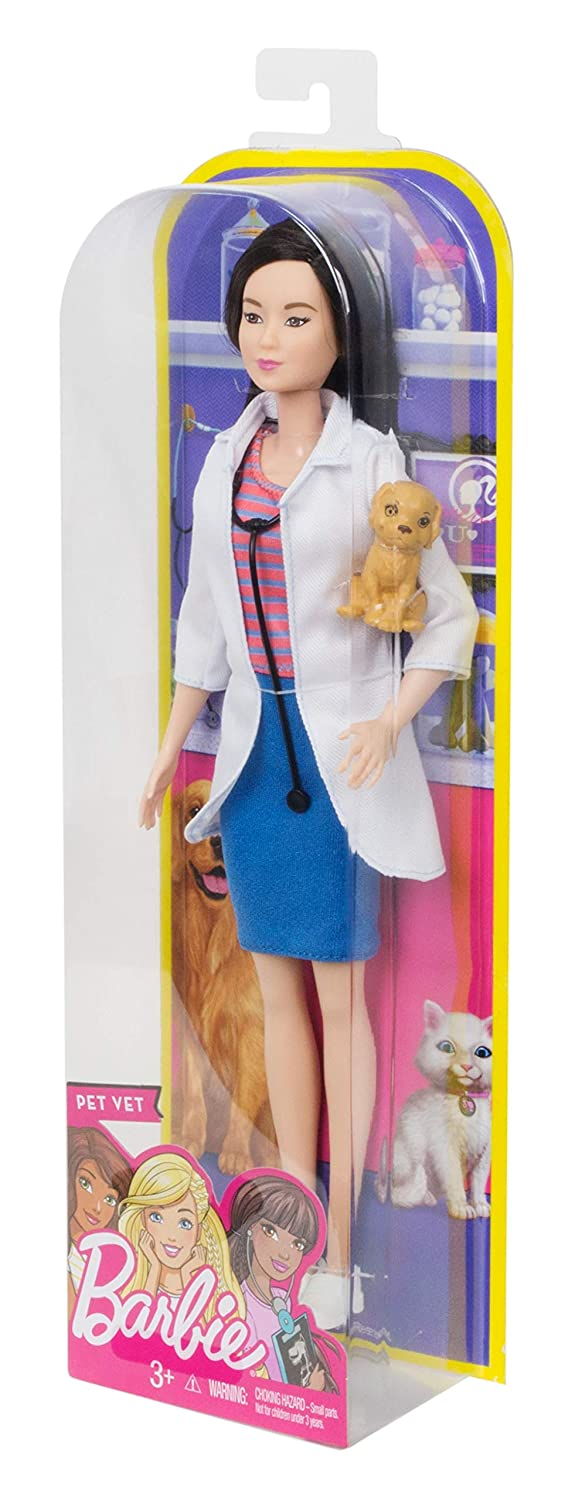 Barbie carriere Pet Vet Bambola Nuovo