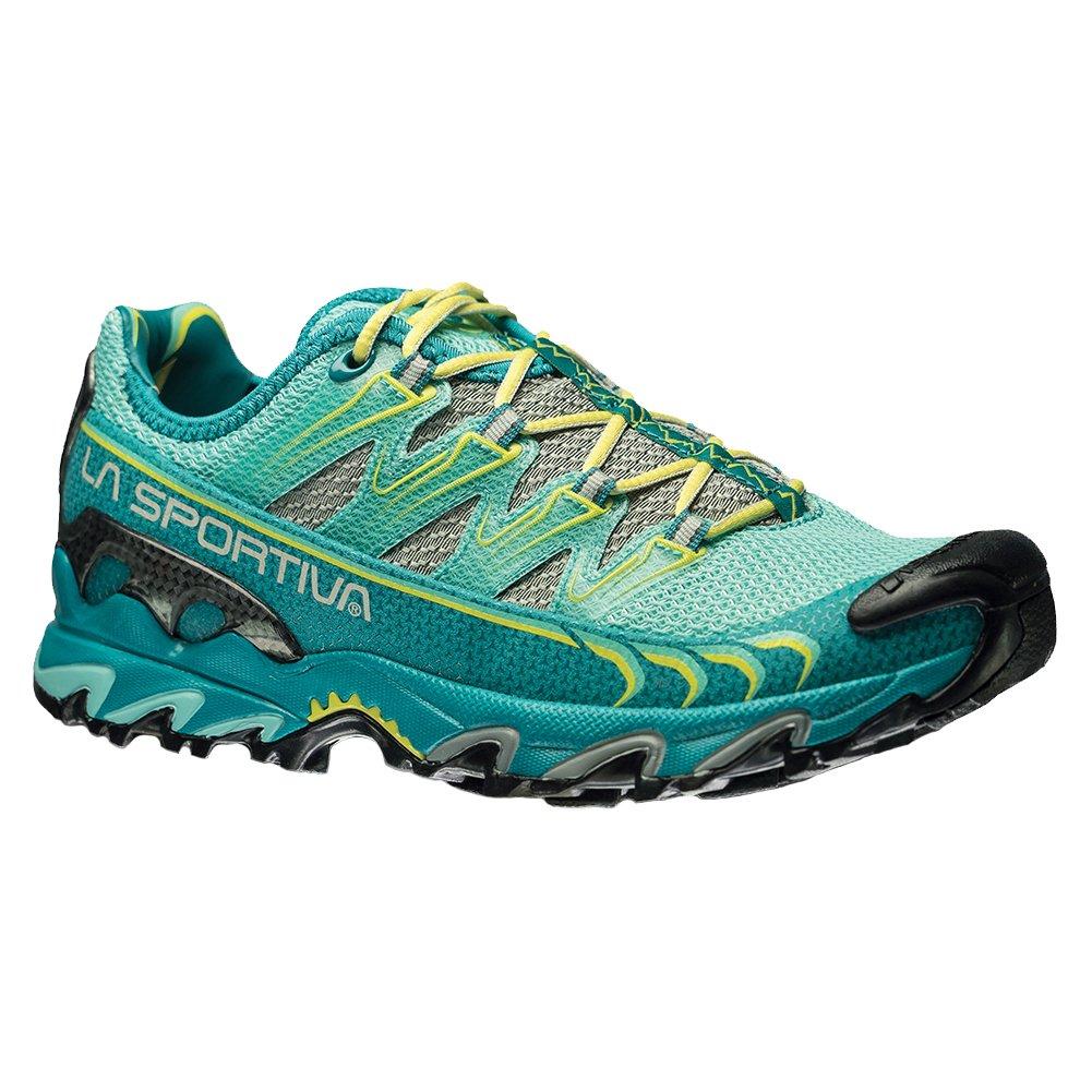 La Sportiva Ultra Raptor Women's Mountain Trail Running Shoe, Emerald/Mint, 42