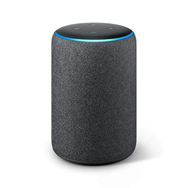 Certified Refurbished  Echo Plus (2nd Gen) - Premium sound with built-in smart home hub - Dark Charcoal