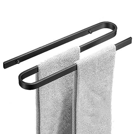 Toalleros Repisa Toalleros De Barra Toalla Baño Toallero Percha para Puerta Soporte Toalla Estante Colgante De