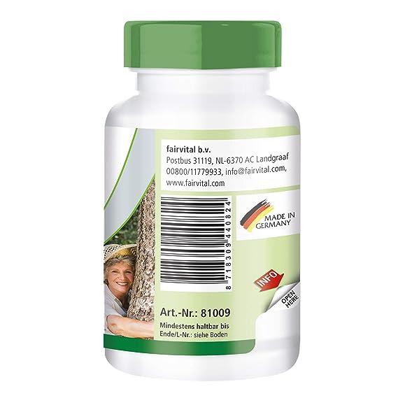 garra y corteza de sauce del diablo - 1 mes - VEGANO - 90 cápsulas - 1,2% y 15% harpagosidos salicina: Amazon.es: Salud y cuidado personal