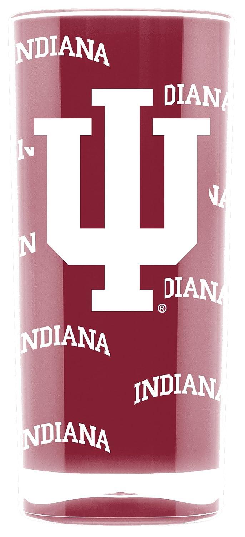 NCAA Indiana Hoosiers 16oz Insulated Acrylic Square Tumbler